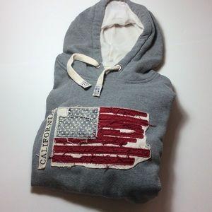 Flag Hoodie Sweatshirt